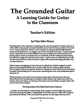 The Grounded Guitar,   Teacher's Edition