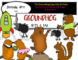 The Groundhog Says... Clipart Pack