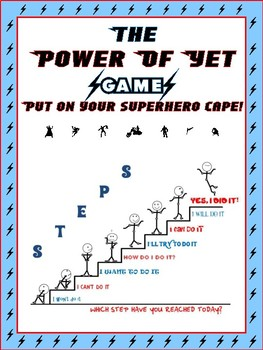 The Growth Mind Set Game-Power of Yet