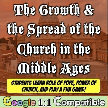 The Growth & Spread of the Catholic Church in the Middle Ages!