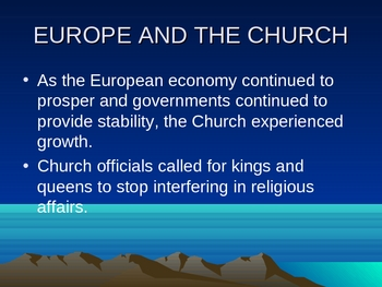 The Growth of Church Authority