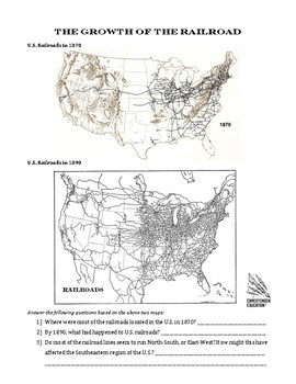 The Growth of the Railroads in the U.S. and The Grange