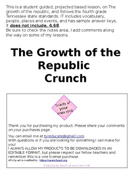 The Growth of the Republic