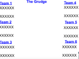 The Grudge Game- addition and subtraction of integers