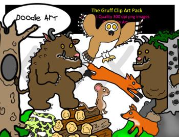 Gruffalo Clip Art Worksheets Teachers Pay Teachers