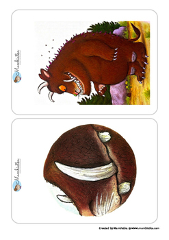 The Gruffalo - Body Parts Flashcards