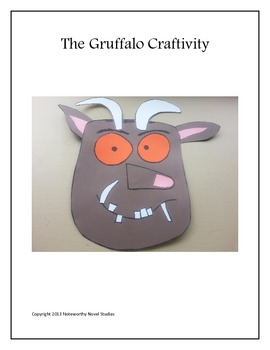 The Gruffalo Craftivity