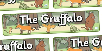 The Gruffalo Display Banner