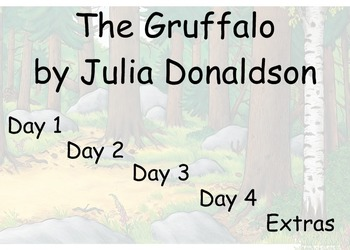 The Gruffalo - Four Block Literacy Guided Reading - Includ