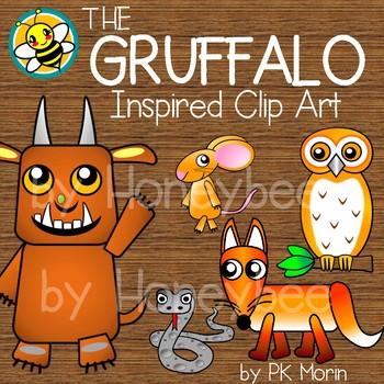 The Gruffalo Inspired Clip Art
