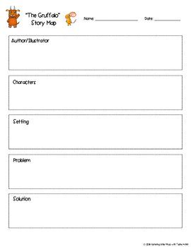 """""""The Gruffalo"""" Mini Book Unit (Common Core Standards Included)"""