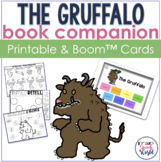 The Gruffalo:  No Prep Speech & Language Activities