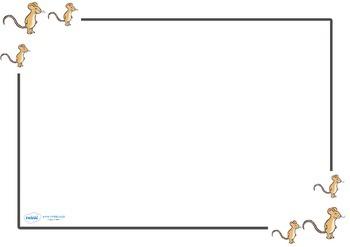 The Gruffalo Page Borders