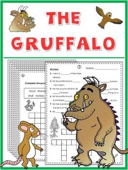 The Gruffalo - Puzzle Fun