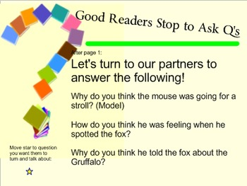 The Gruffalo (Read Aloud) Responding to Questions