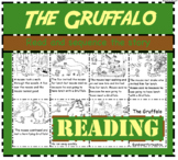 The Gruffalo: Reading and Sequencing cut and paste activity