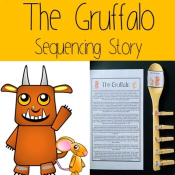The Gruffalo Sequencing Story
