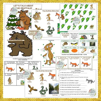 The Gruffalo Speech, Language, & Literacy Book Companion