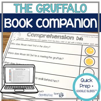 The Gruffalo Book Companion: Speech Language Therapy Activities