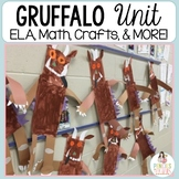 The Gruffalo & The Gruffalo's Child Craftivity plus ELA an