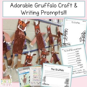 The Gruffalo & The Gruffalo's Child Craftivity plus ELA and Math Resources