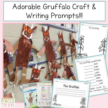 The Gruffalo & The Gruffalo's Child Craftivity plus ELA and Math Resources