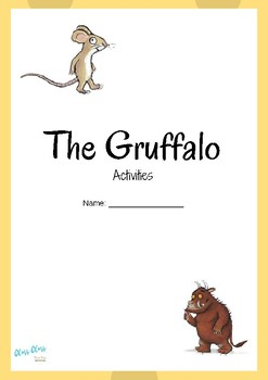 The Gruffalo activity booklet