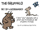 """The Gruffalo"", by J. Donaldson, Set of 4 Bookmarks"