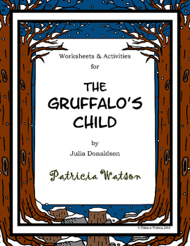 The gruffalos child companion worksheets by patricia watson tpt the gruffalos child companion worksheets ibookread ePUb