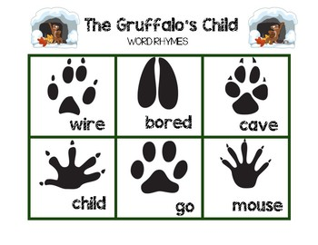 The Gruffalo's Child - Word Rhymes