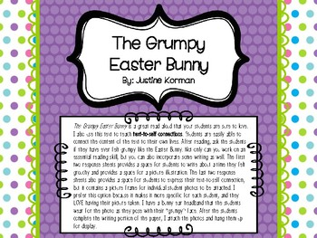 The Grumpy Easter Bunny: Text-To-Self Connections