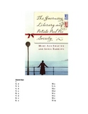 The Guernsey Literary and Potato Peel Pie Society Reading Test