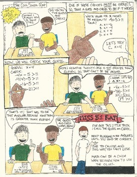 The Guess and Check Comic (Math Test Prep)