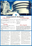The Guggenheim Museum - ESL Reading, Vocabulary Review & C