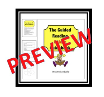 The Guided Reading Galore Guidebook