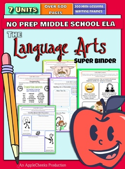 Every Reading and Writing Mini-Lesson, All Worksheets, One Amazing Binder (Sale)