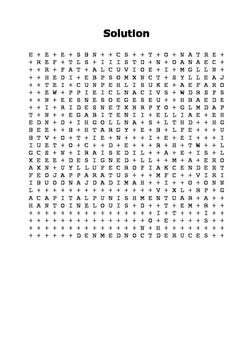 The Guillotine  - Crime and Pnishment Word Search