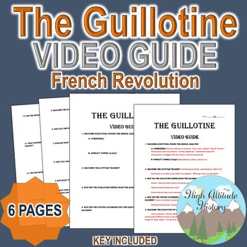 The Guillotine (History Channel / History.com) Original Video Guide Questions