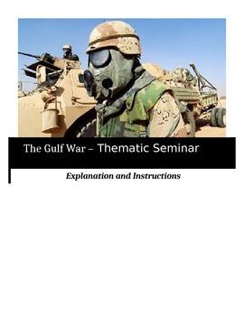 Socratic Seminar - The Gulf War - Common Core Aligned