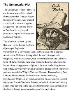 The Gunpowder Plot Handout