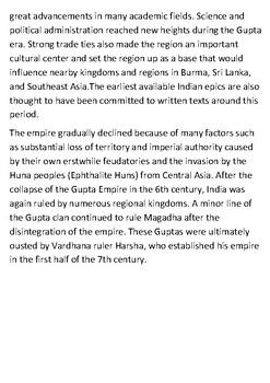 The Gupta Empire Handout