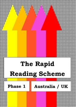 The Rapid Reading Scheme - Phase 1 - UK - Sight Word Program Remedial