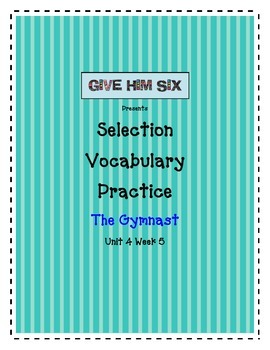 The Gymnastic - Selection Vocabulary