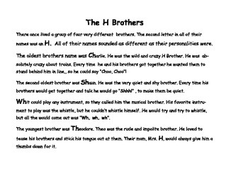 The H Brother Digraphs
