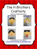 The H Brothers Craftivity (sh, ch, th, wh)
