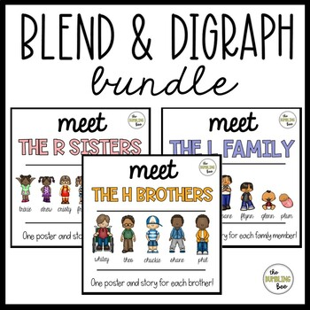 The H Brothers / R Sisters / L Family Posters BUNDLE