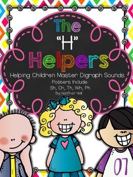 "The ""H"" Helpers {Classroom Kids Teaching Digraph Sounds}"