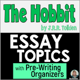The HOBBIT Essay Topics with Pre-Writing Organizers