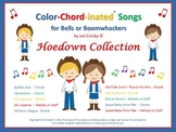 The HOEDOWN COLLECTION of Color-Chord-inated Songs for Bells or Boomwhackers