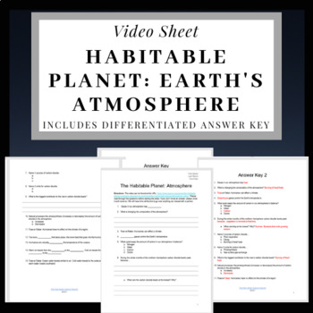 The Habitable Planet: Atmosphere Video Sheet